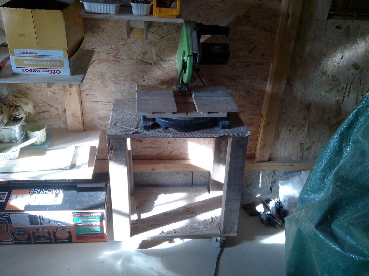 Agrandissement du garage 10. Aménagement intérieur