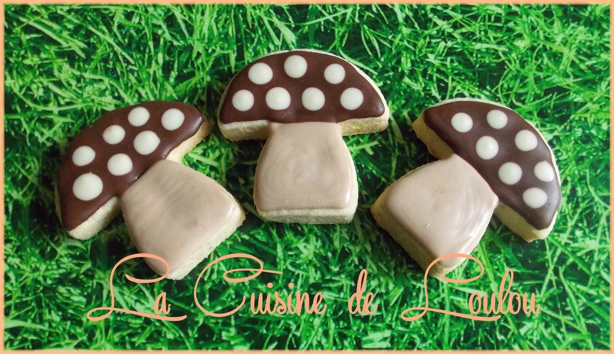 Champignons au zeste d'orange et chocolats