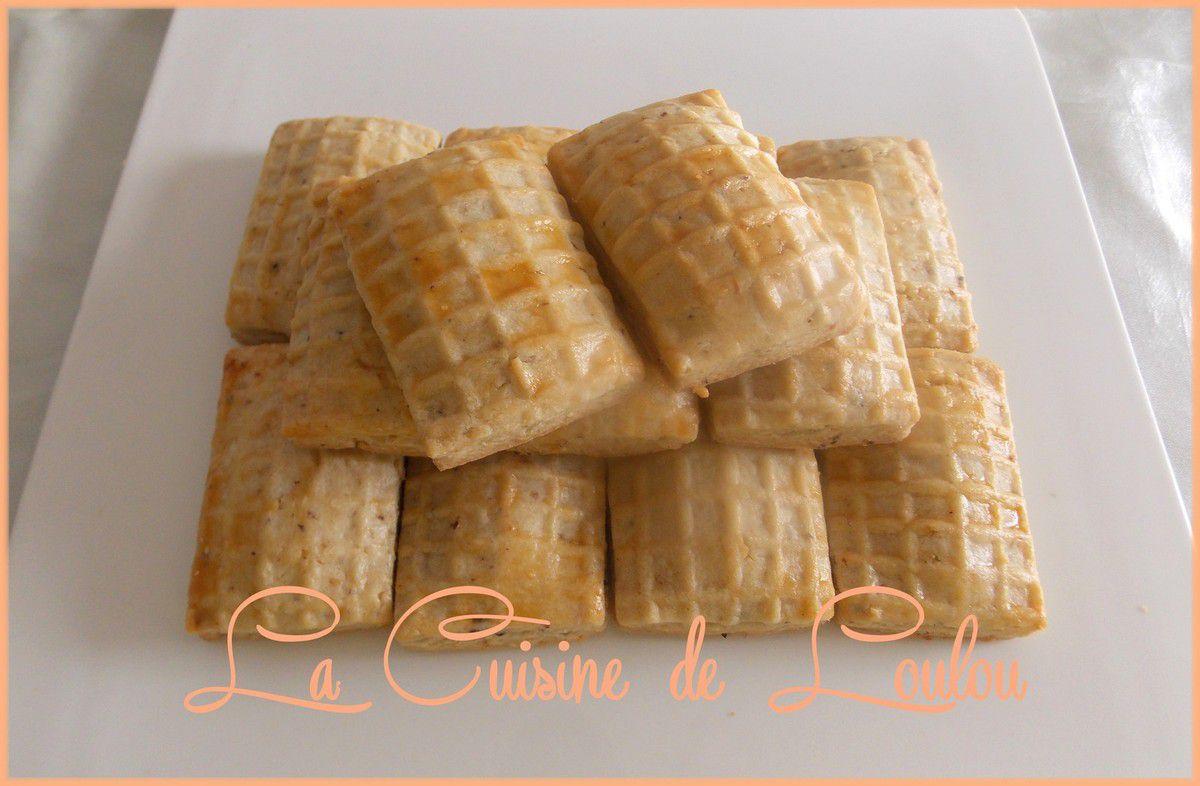 Biscuits à la noisette fourrés chocolat praliné