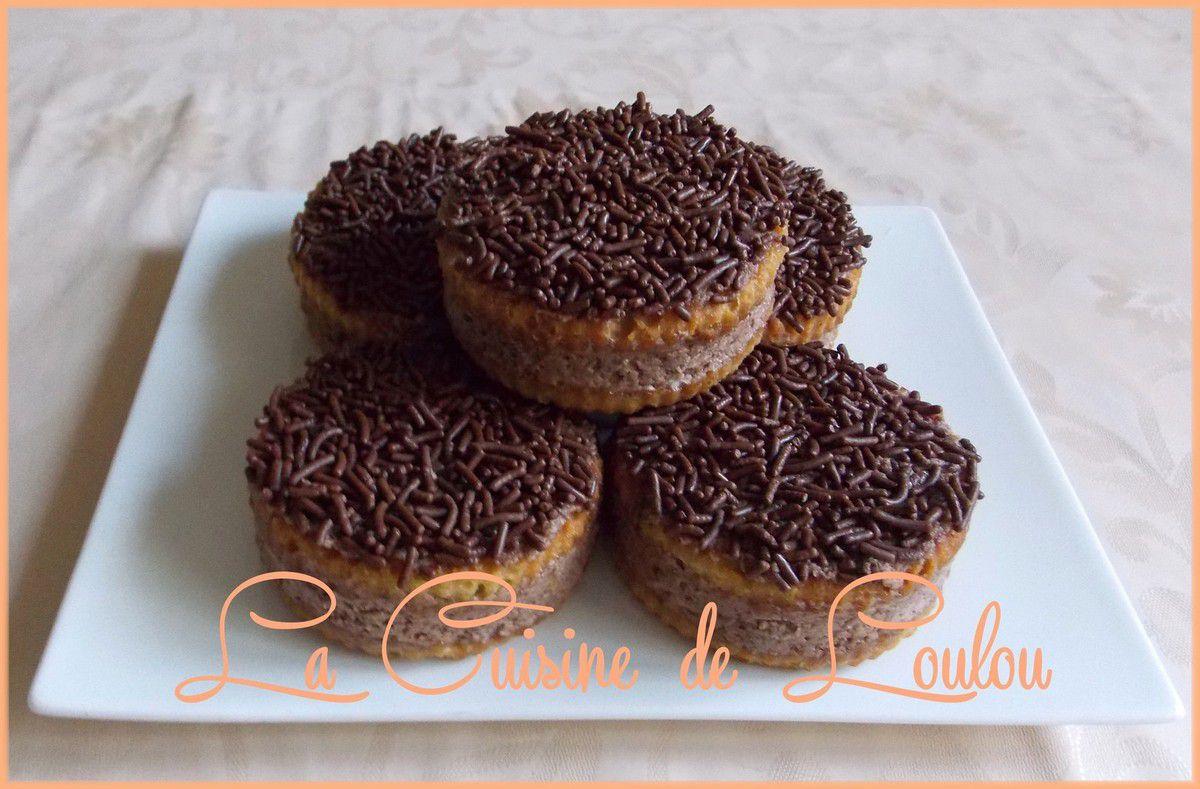 Cakes sandwich à la crème carambar