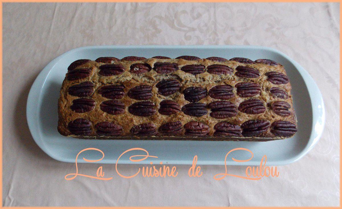 Cake à la chataigne et noix de pécan