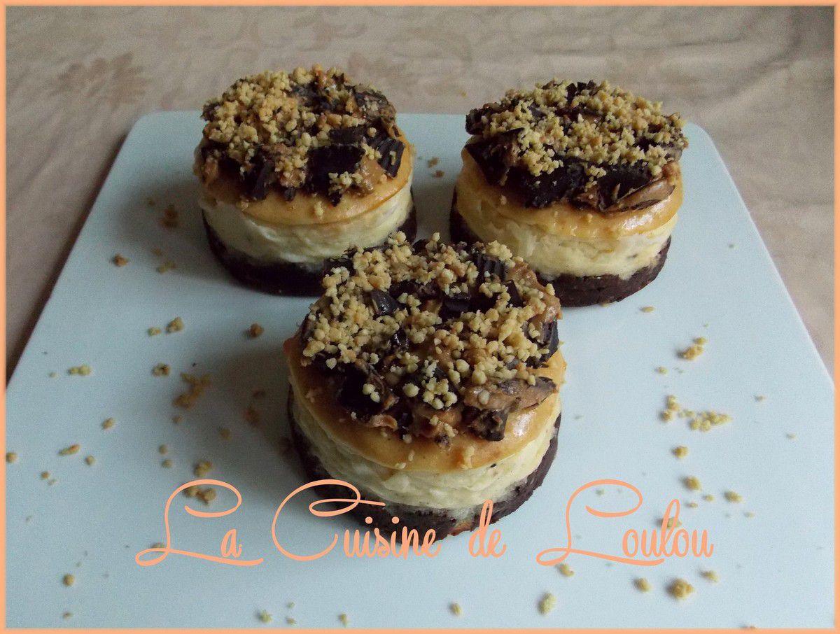 Cheesecakes au beurre de cacahuètes