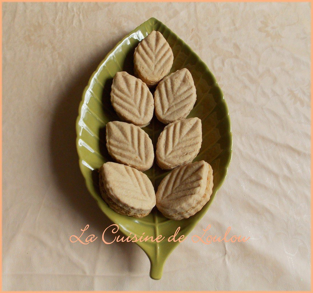 Feuilles aux speculoos