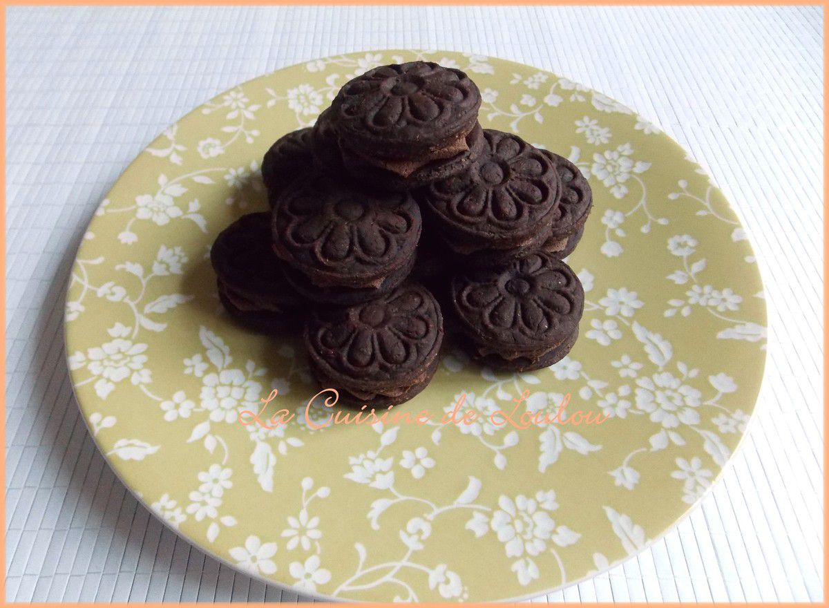 Biscuits choco-chataigne