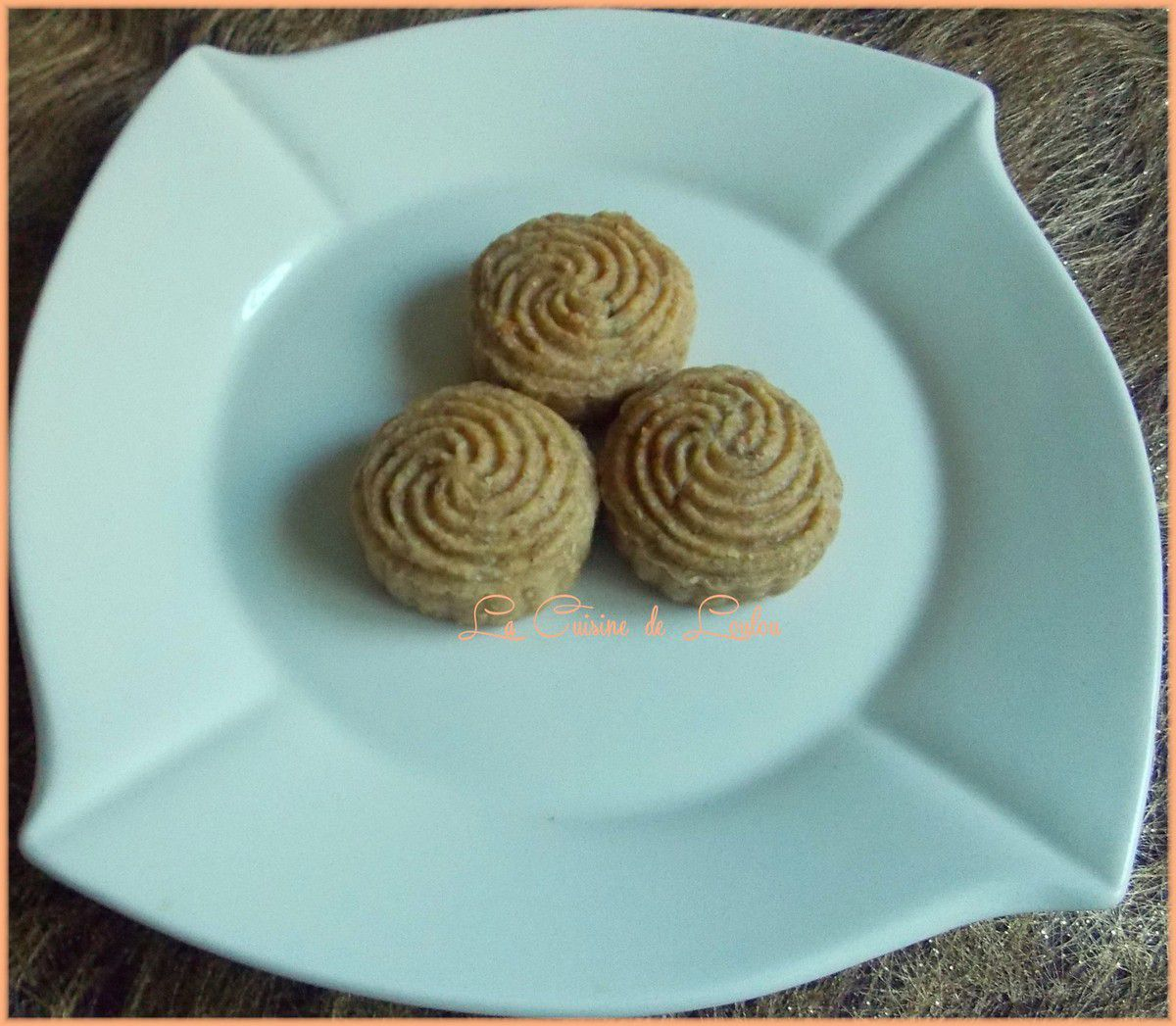 Mooncakes raisins secs-orange