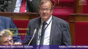 Alain Bruneel - député de la 16è circonscription du Nord - Groupe  Gauche Démocrate et Républicaine.