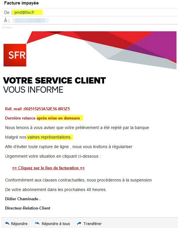 Chat rencontre sfr