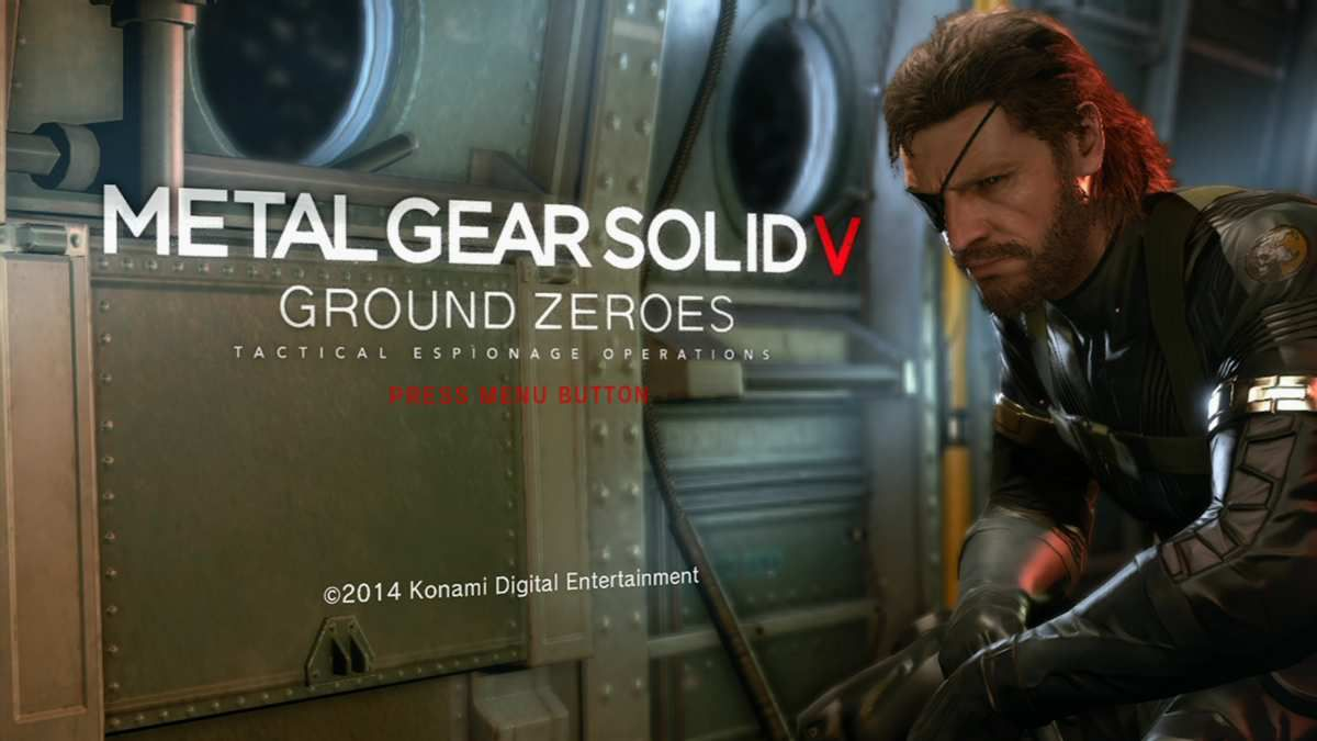 (Test) Metal Gear Solid V : Ground Zero.