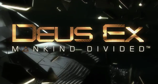 Deus Ex Human Mankind Divided : Premier Trailer.