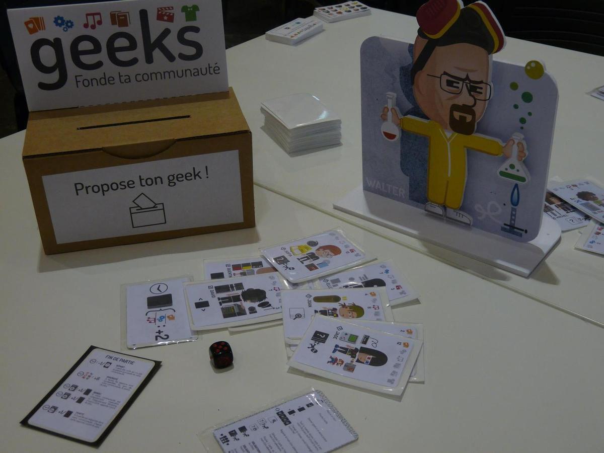 Geeks : L' ambitieux jeu de société indépendant pour les Geeks.