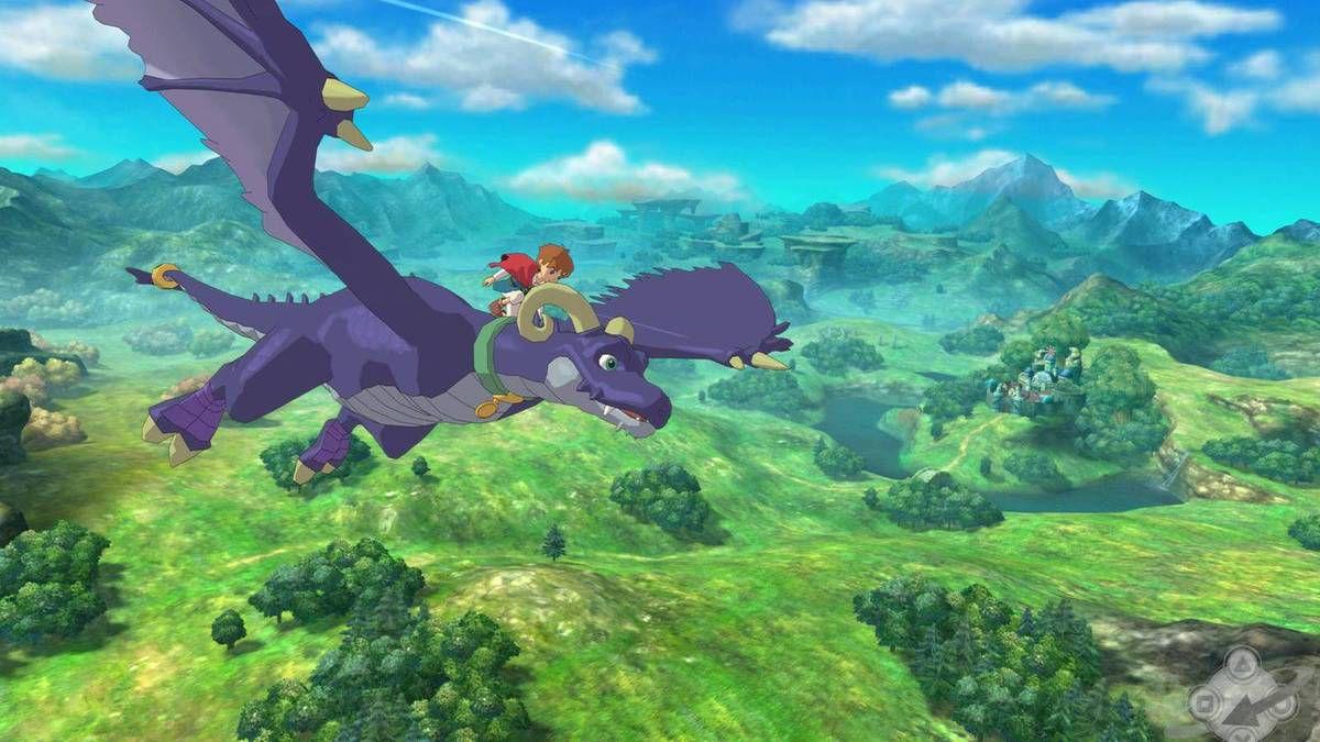 Au cours de l'aventure, vous aquérez divers moyens de transports, comme un bateaux, ou encore un dragon.