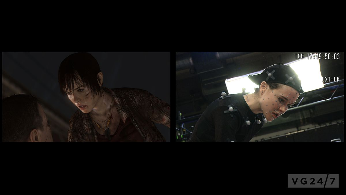 Photo De Motion Capture Sur Beyond: Two Souls