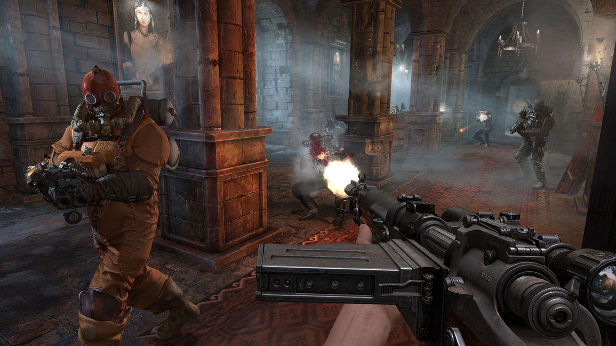 [TEST] Wolfenstein :  The Old Blood .