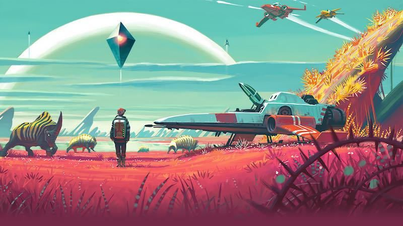 [TEST] The No Man's Sky.