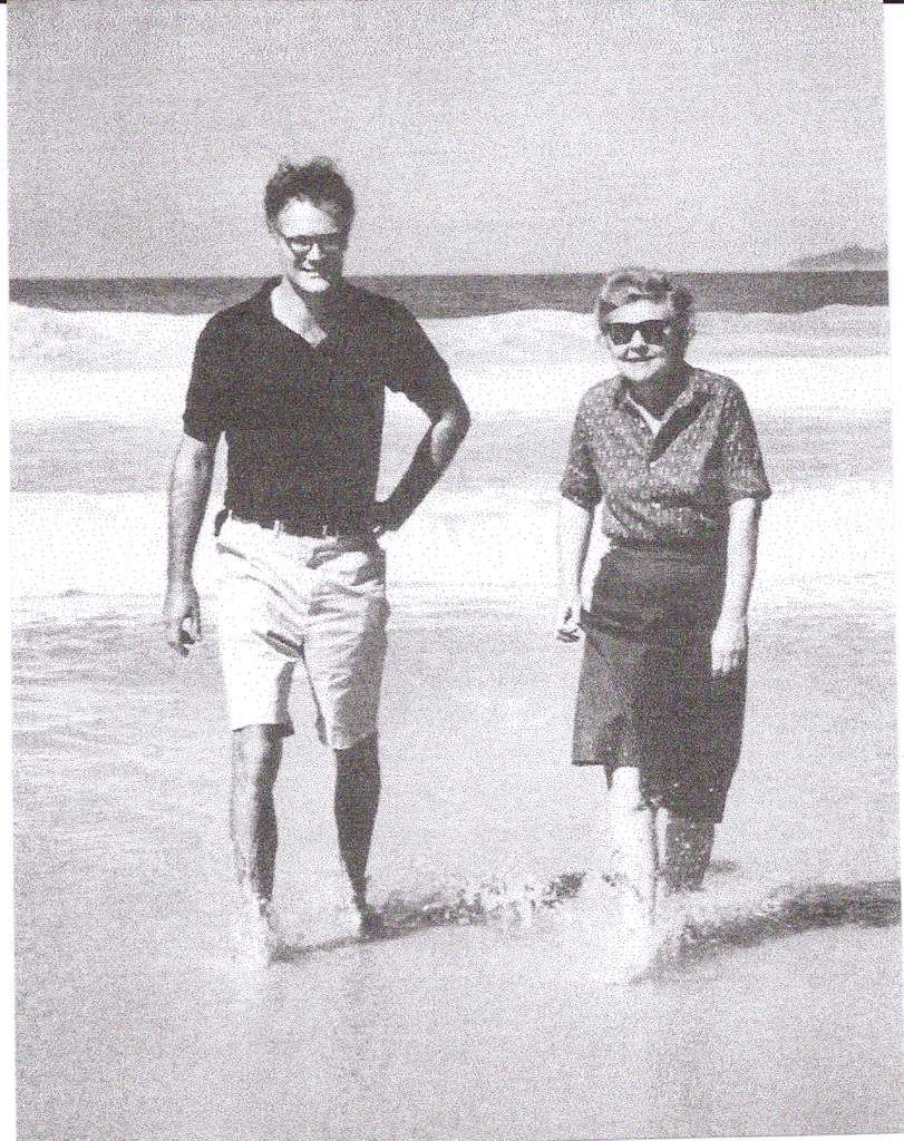 Robert Lowell et Elizabeth Bishop