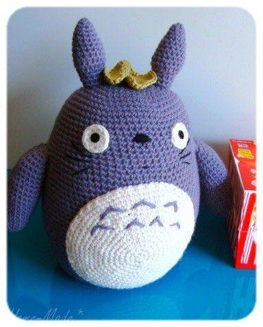 #10 Totoro et Cie...au crochet! pour changer!:oD