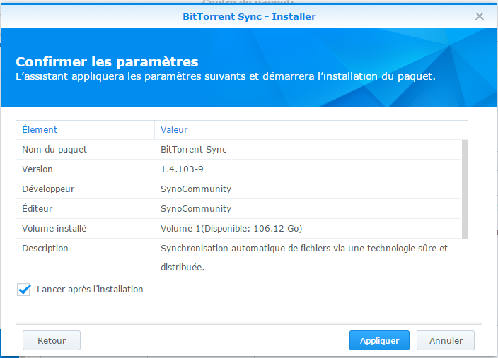 Sauvegarder son Android sur son NAS Synology via BiTorrent Sync