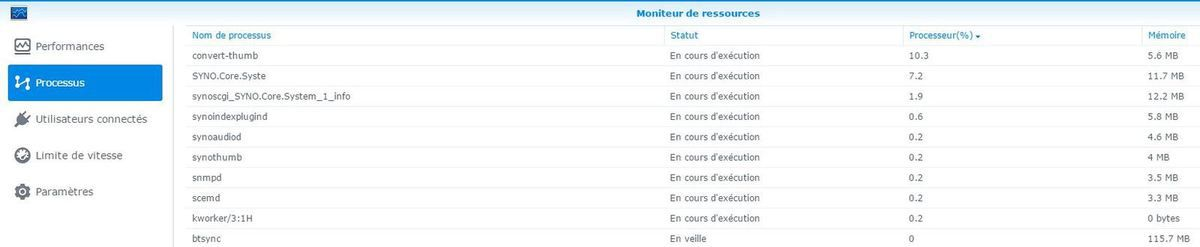 SYNOLOGY [Solution] Thumbs sature le NAS