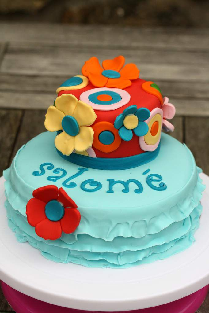 Gâteaux des 9 ans de ma Pralinette : N°1