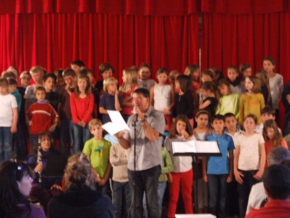 VOLONNE   Rassemblement de chorales scolaires