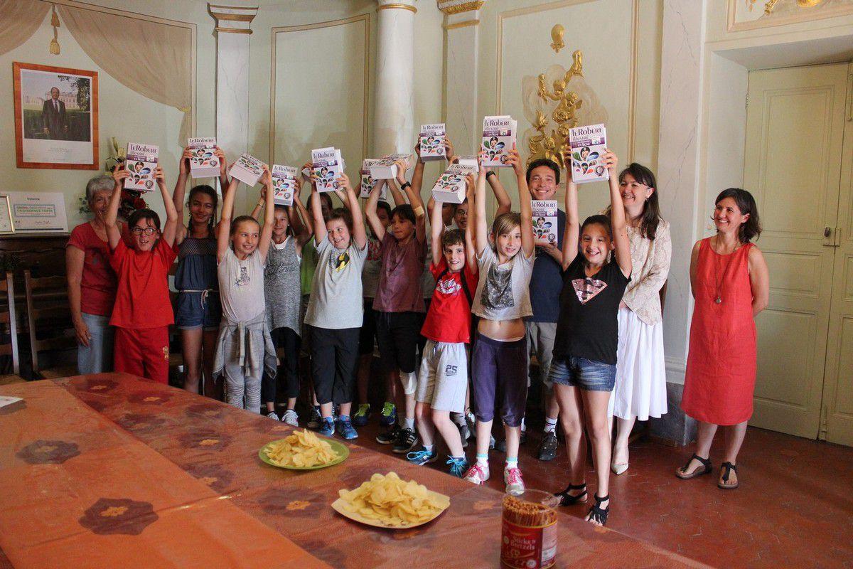 VOLONNE   Les futurs collégiens ont été reçus en mairie.