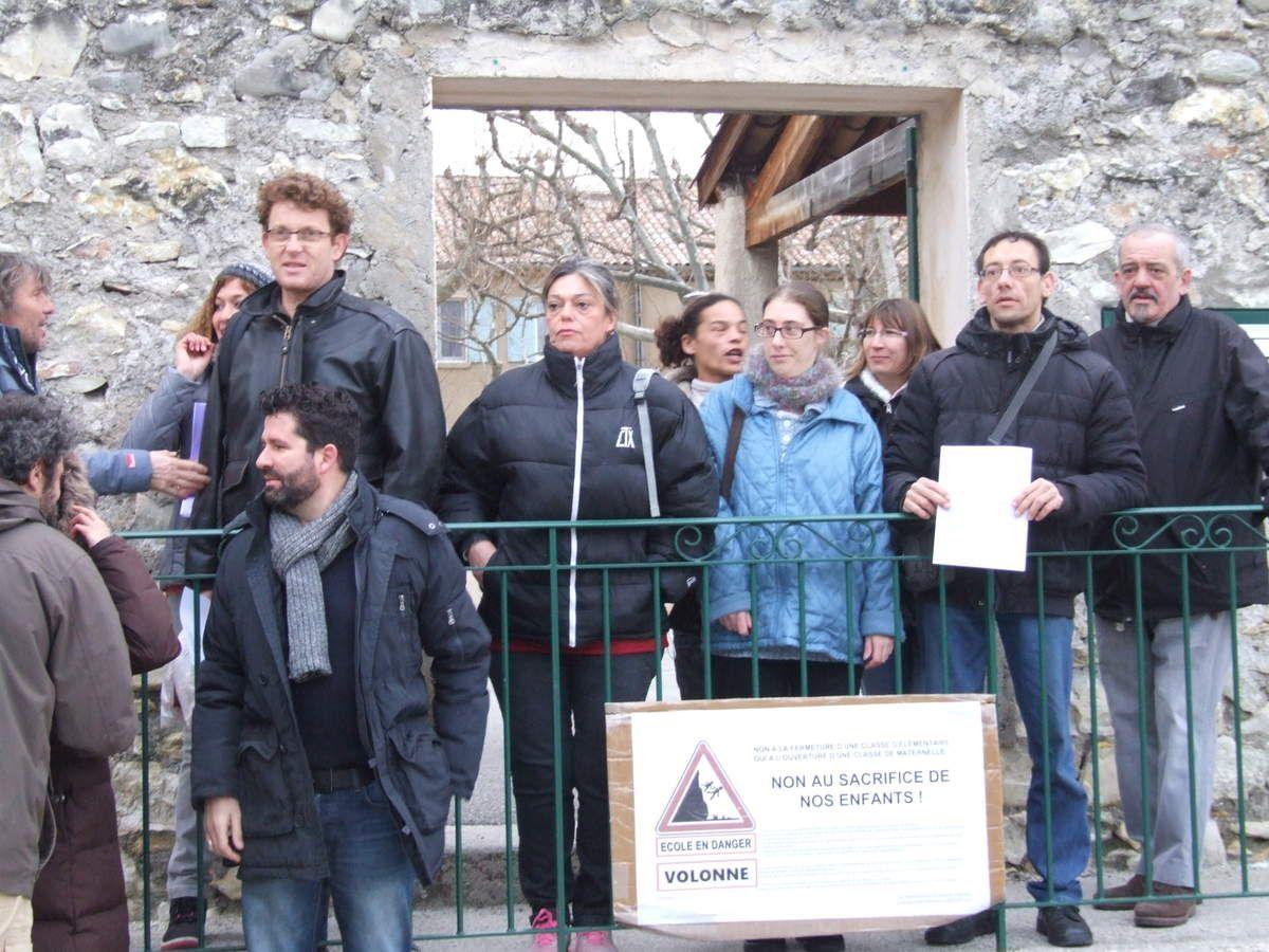 VOLONNE   Le village se mobilise pour sauver l'école