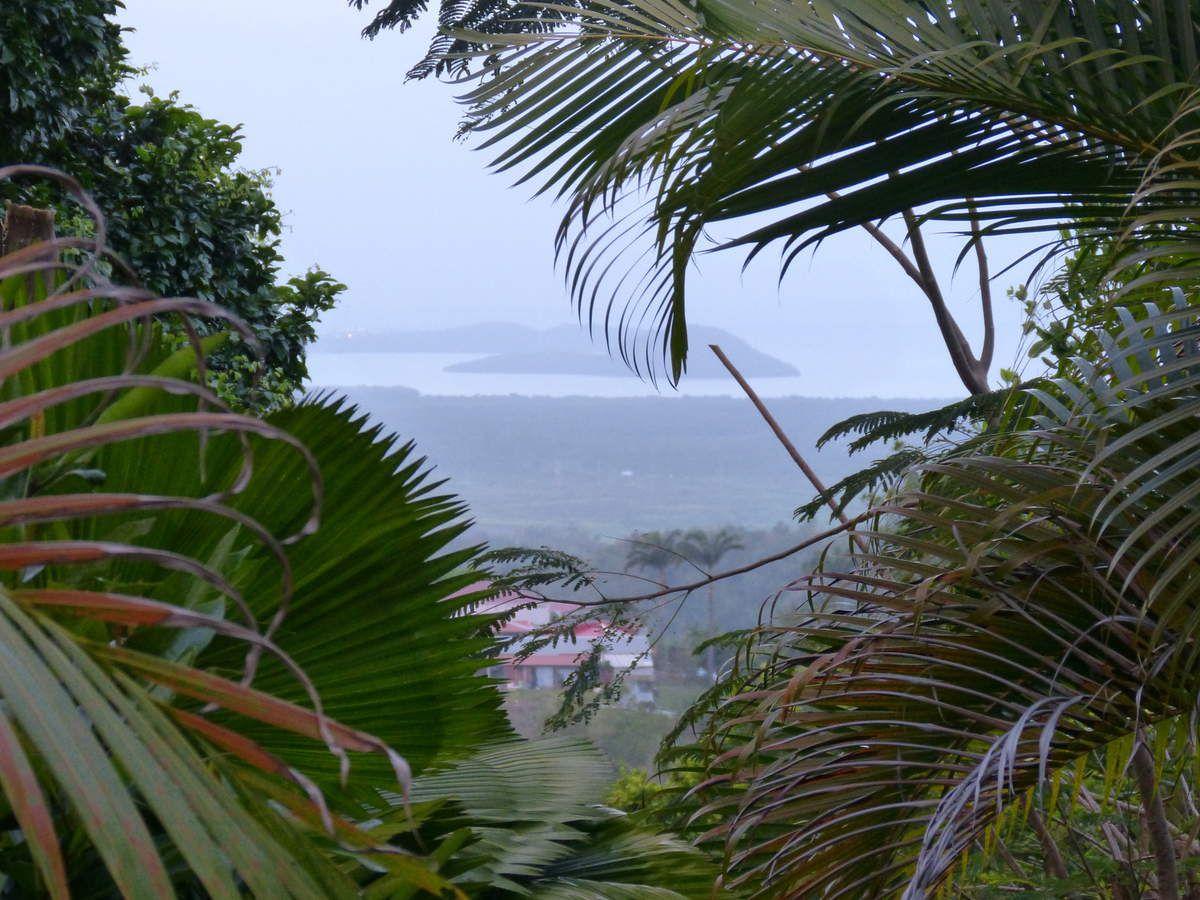Vue de notre location sur la baie de Fort-de-France