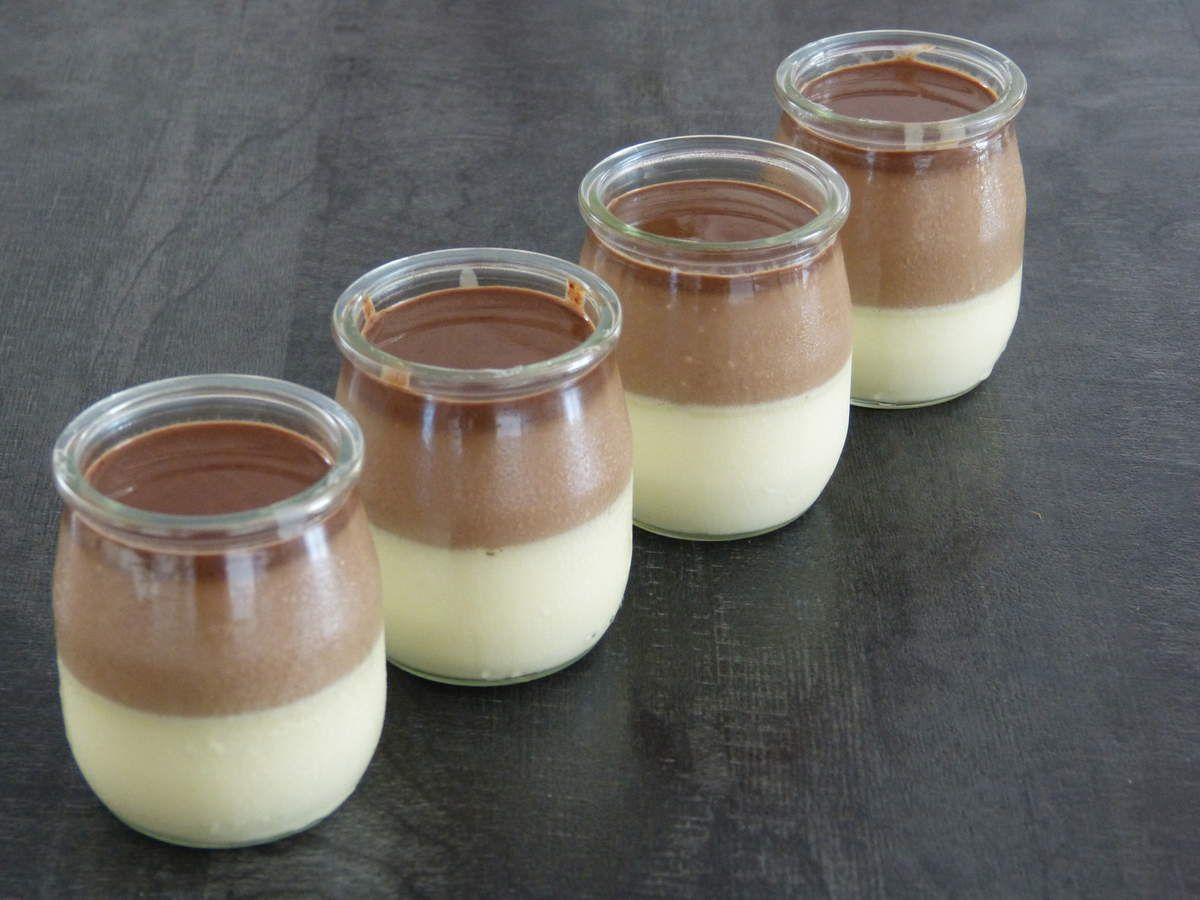 Panna Cotta aux 3 chocolats