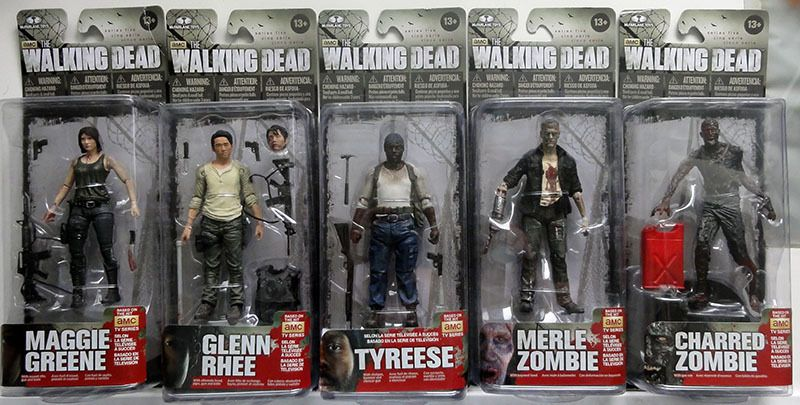 Figurines The Walking Dead  captaincollectoys