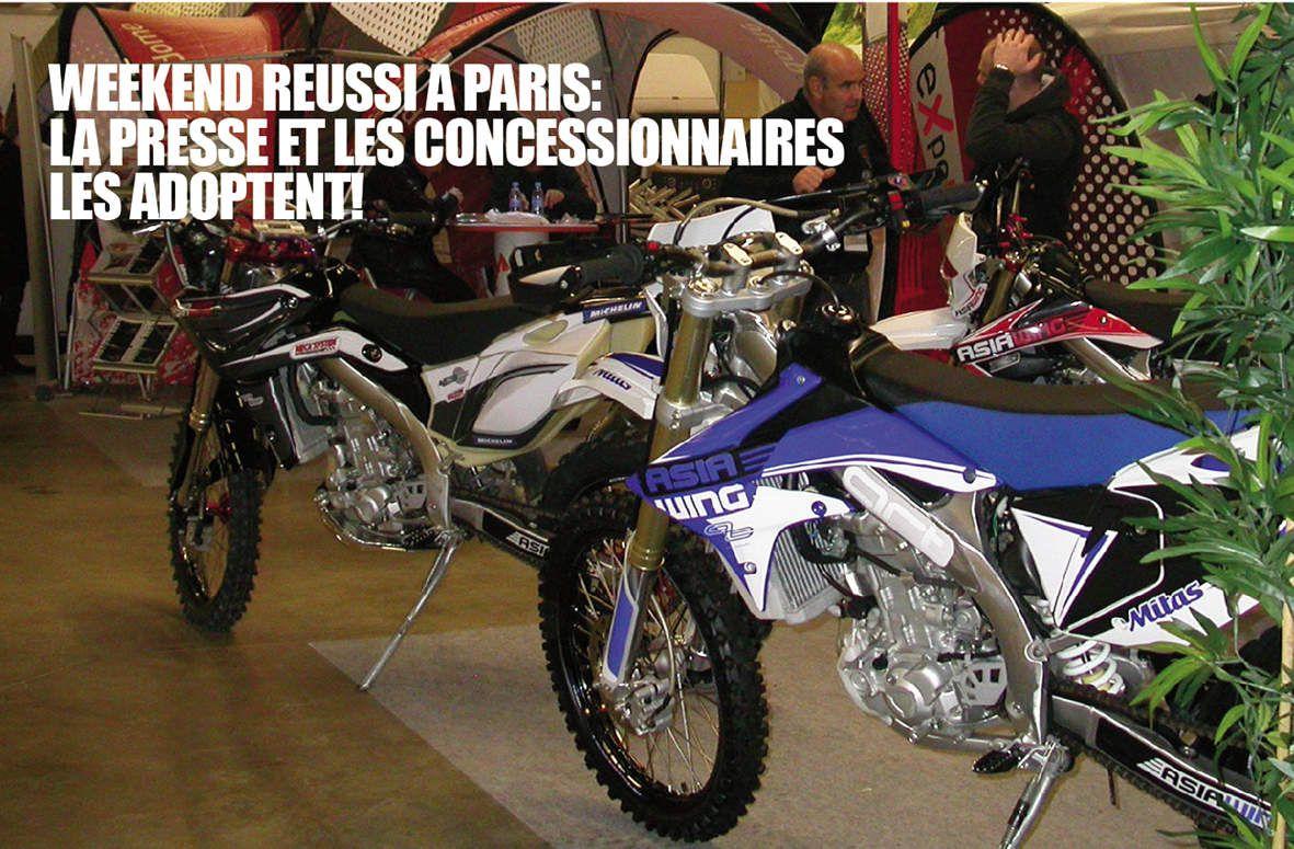 Salon JPMS - Journées Professionnelles Motos et Scooters - Paris Janvier 2015