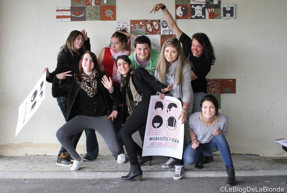 L'atelier vidéo 2014 du projet Musiq'O'Lycée