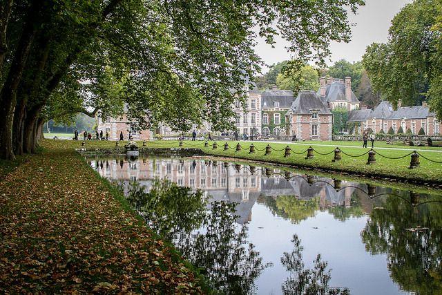 Le château de Courances, encore plus beau à l'automne