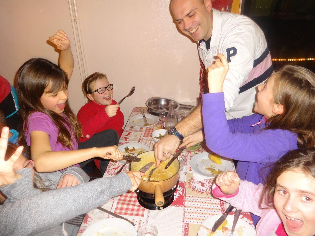 Soirée fondue savoyarde !!!