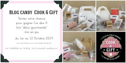 Blog Candy Cook and Gift