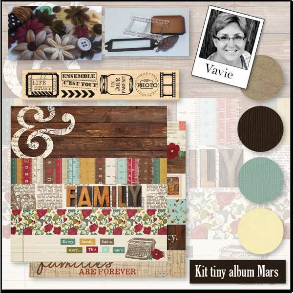 Kit multi albums Variations Créatives