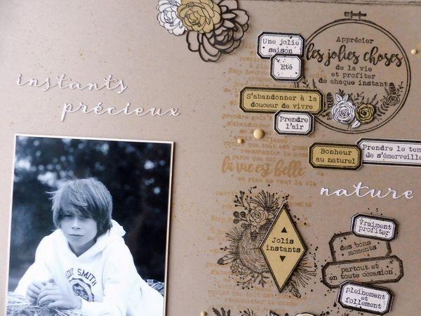 Deux pages pour Florilèges Design