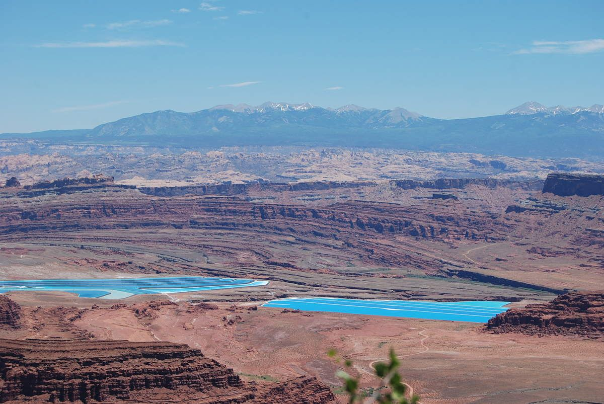 Canyonlands et Deadhorse Point