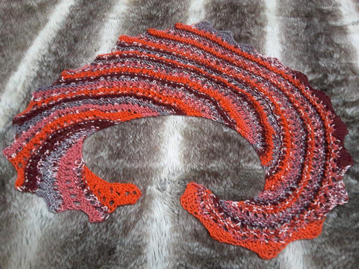 Écharpe queue de dragon, variante invisible...