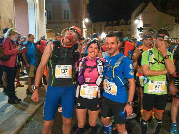 Team Solidai'Run au départ