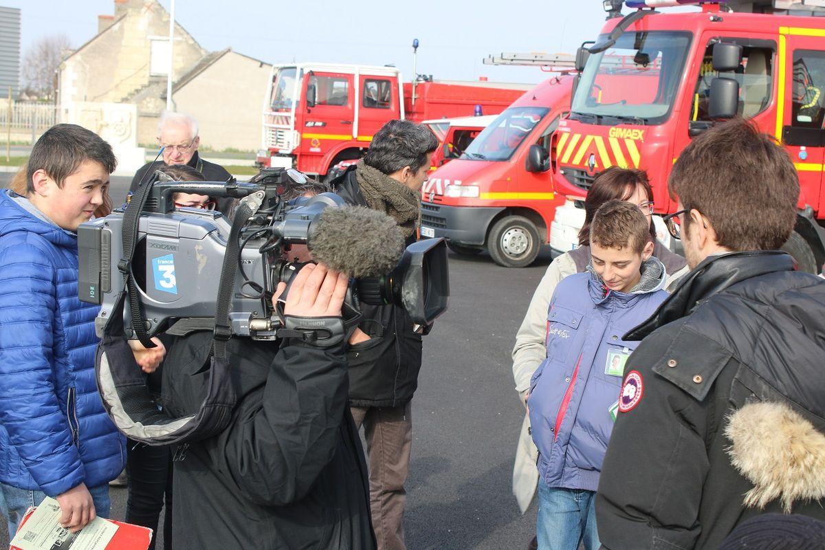 Centre de secours de Bourgueil