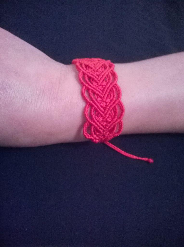 bracelet micromacramé
