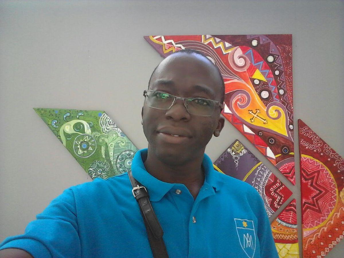 Frère Christian Ngoura SM