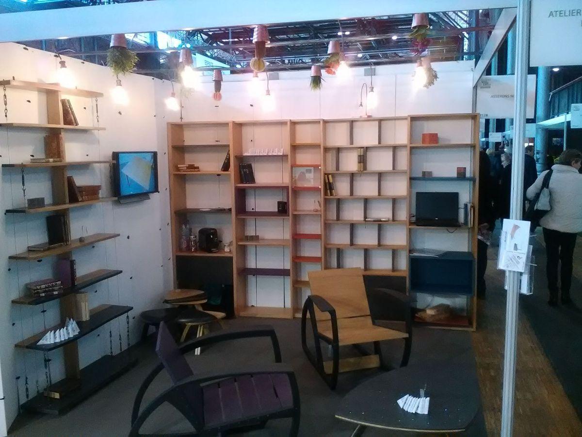 salon art d coration la grande halle de la villette paris atelier pourquoi pas mobilier. Black Bedroom Furniture Sets. Home Design Ideas