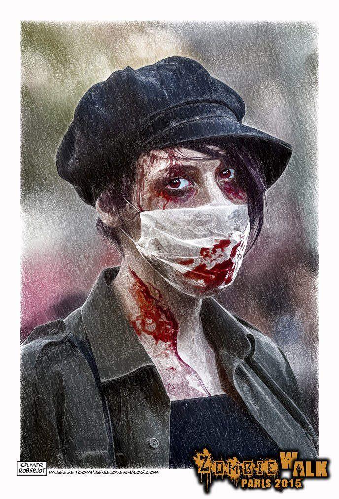 Zombie Walk Paris 2015 (façon Dessin...)