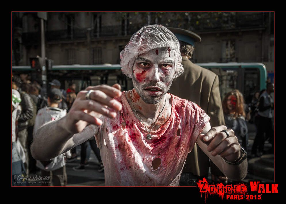 Zombie Walk Paris 2015