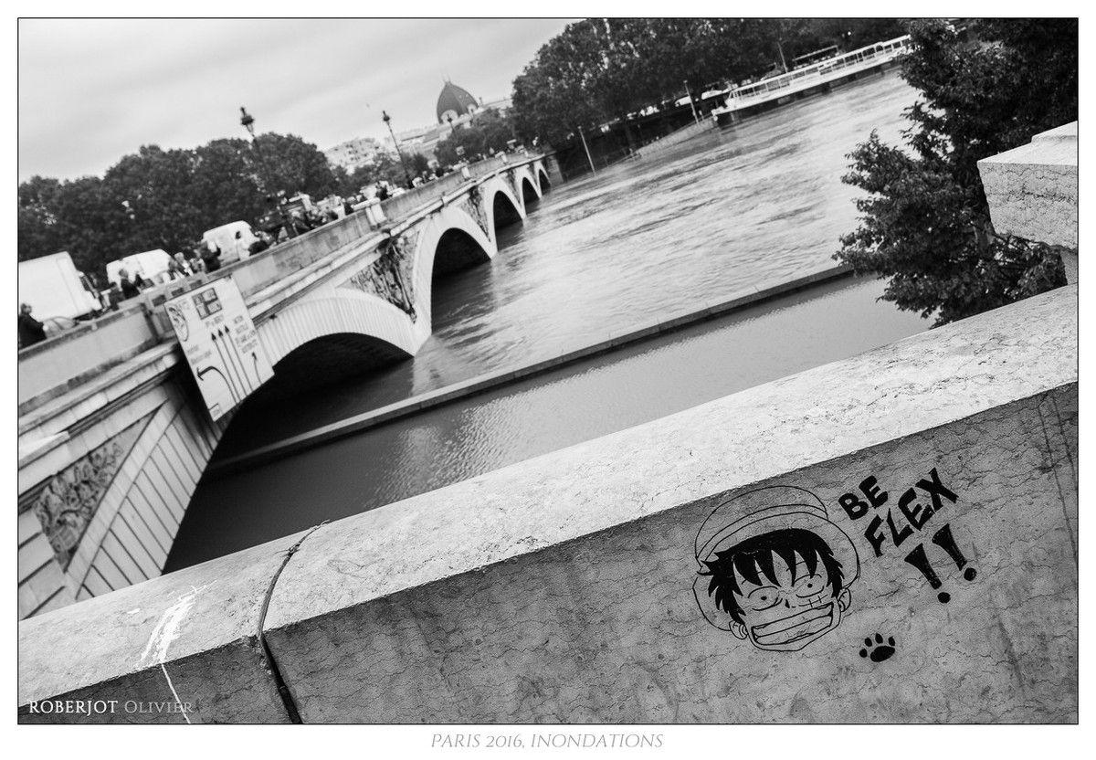 Paris, les pieds dans l'eau...