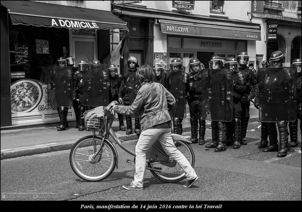 Paris, manifestation du 14 juin 2016 contre la loi travail