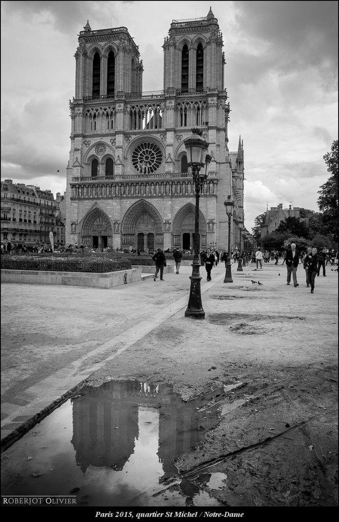 Paris, quartier St Michel, Notre-Dame