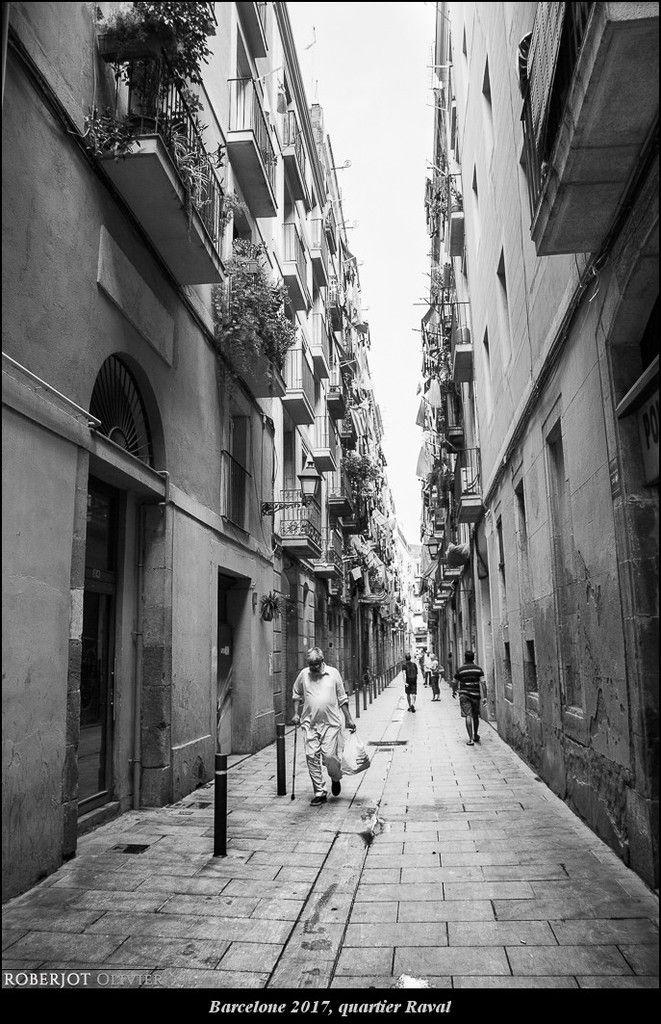 Espagne 2017, quartier Raval