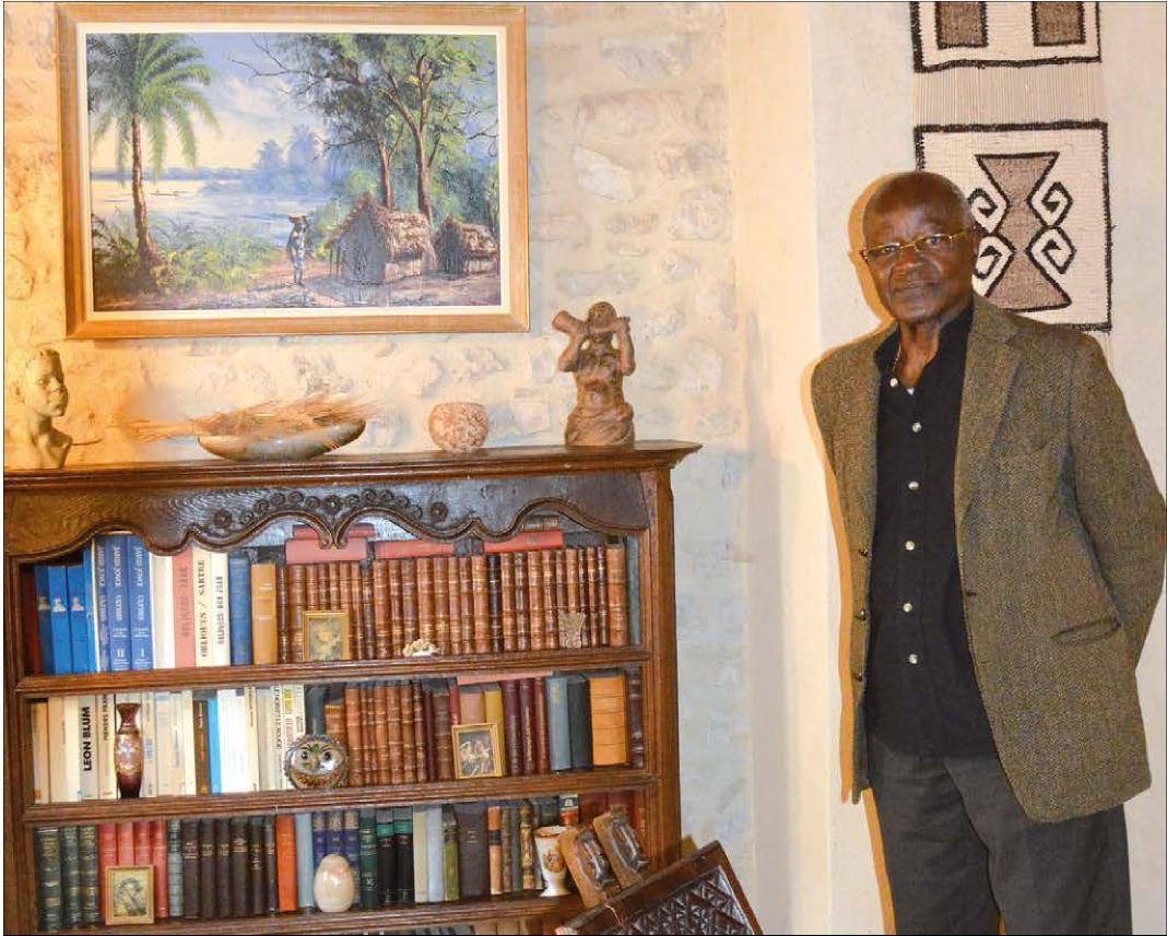 BENIN: Le Doyen Olympe BHÊLY-QUENUM en honneur dans le Gard